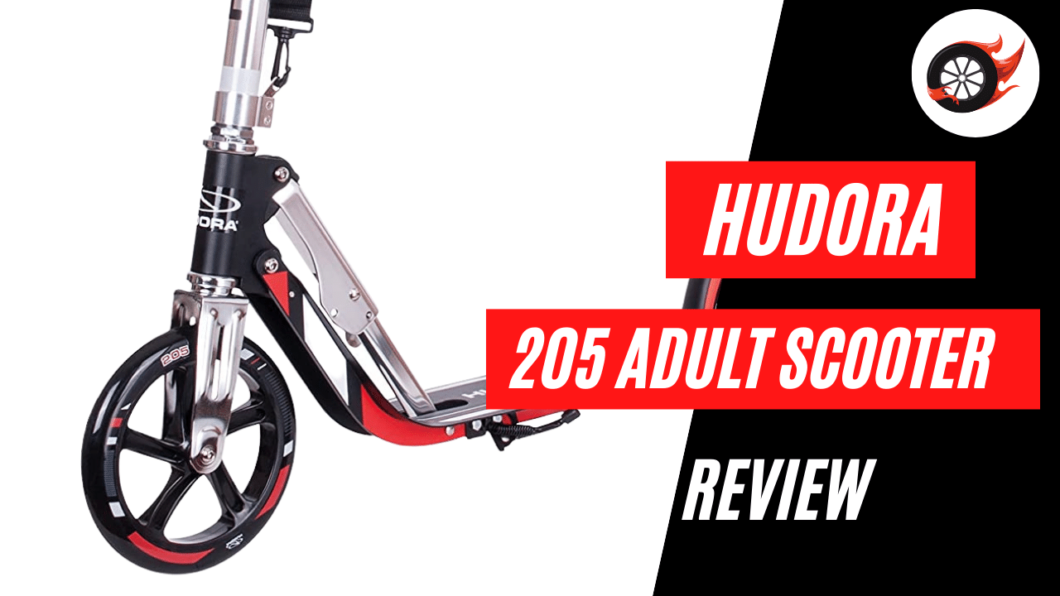 hudora 205 adult kick scooter review