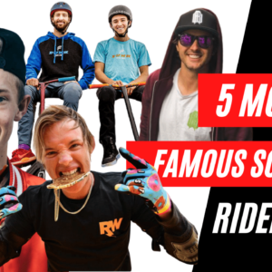 most famous scooter riders