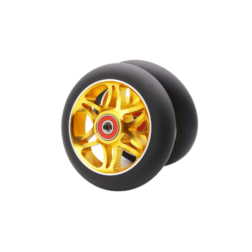 z first scooter wheels pair 12 spoke gold