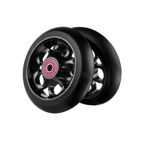Z-FIRST 2pcs bullet 100mm Pro Scooter Wheels black