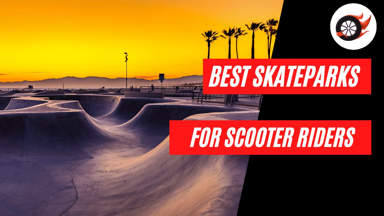 Best Skateparks for Scooter Riders