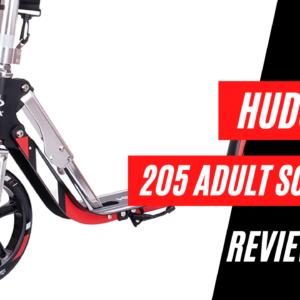 hudora 205 adult kick scooter review