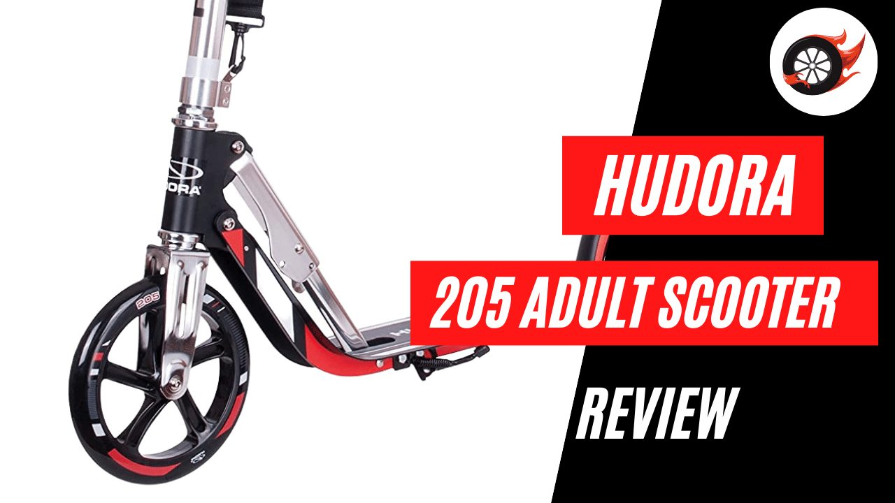 Hudora 205 Adult Scooter Review