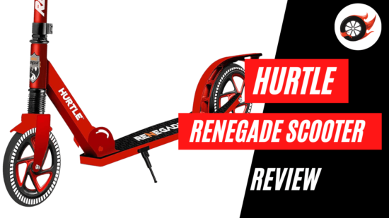 hurtle renegade scooter review