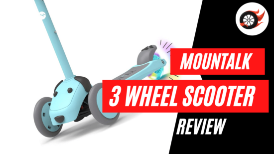 mountalk 3 wheel scooter review