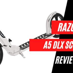 razor a5 dlx scooter review