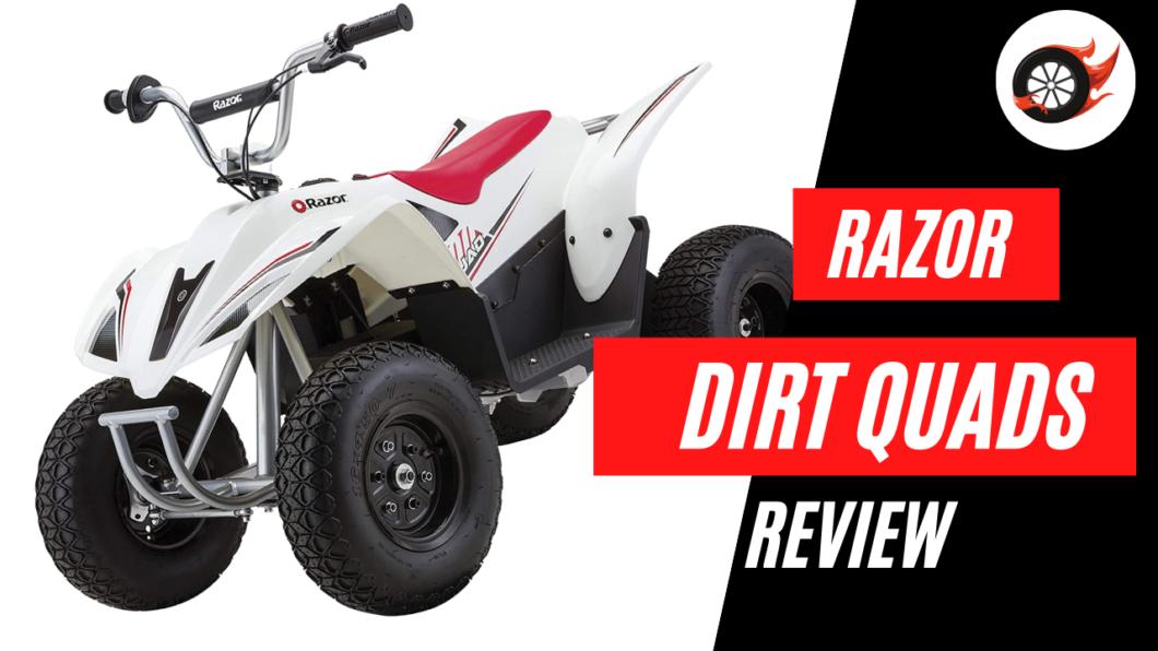 razor dirt quad review