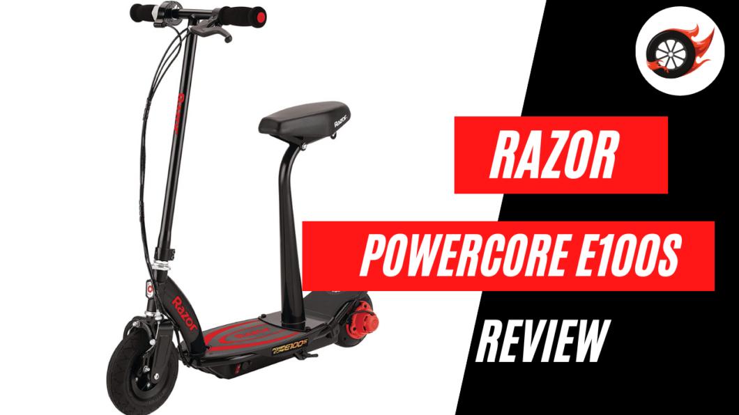 razor powercore e100s scooter review