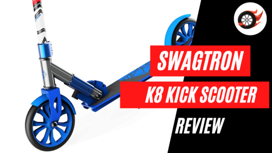 swagtron K8 kick scooter review